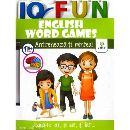 IQ FUN - ENGLISH WORD GAMES