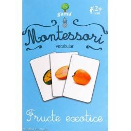 FRUCTE EXOTICE - VOCABULAR MONTESSORI