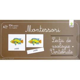 LECȚII DE ZOOLOGIE, VERTEBRATE - MONTESSORI